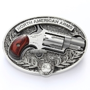 NAA Belt Buckle and NAA 22LR Mini Revolver RARE